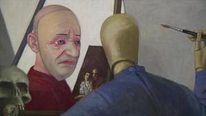 Angermuseum Erfurt mit Ausstellung »Volker Stelzmann. Stadt – Werkstatt«