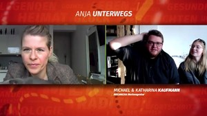 Konkurrenten im Sinne, Feunde im Herzen - Anja unterwegs
