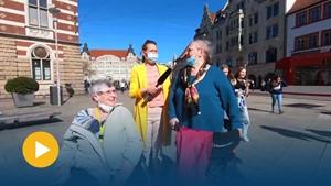 Ladenöffnungen in Weimar, was sagt Erfurt dazu? - Anja unterwegs