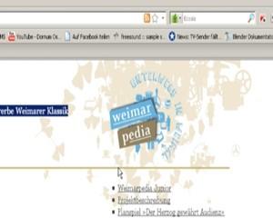 Klassen erforschen die Klassik mit Weimarpedia