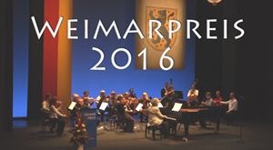 Weimarpreis 2016