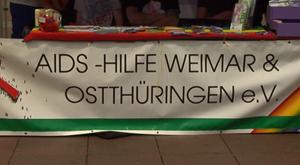 Die AIDS Hilfe Weimar Ostthüringen auf dem CSD