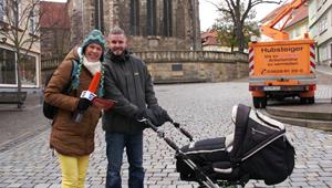 ANJA UNTERWEGS in Arnstadt - Erste Liebe