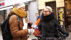 ANJA UNTERWEGS in Weimar  -  Nach Silvester 2