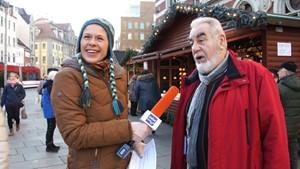 ANJA UNTERWEGS in Erfurt  -  Soziale Gerechtigkeit  Teil1