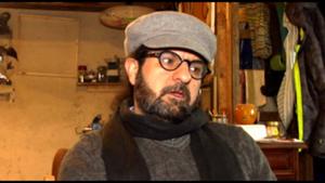 Der syrische Künstler Kahled Arfeh