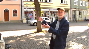 Der Arnstädter Stadtführer Klaus Ehring
