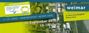 25 Jahre Gewerbegebiet Weimar Nord