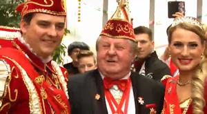 Das Thüringer Prinzenpaar in Kranichfeld