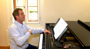 Der neue Hochschullehrer für Gesang Michael Gerke