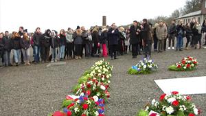 Holocaust-Gedenktag in Buchenwald