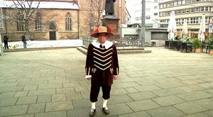 Der Erfurter Stadtführer Detlef Kabbe
