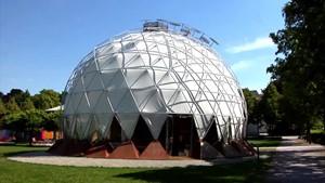 Der Klima Pavillon in Weimar