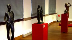 Marks Ausstellung im Neuen Museum Weimar