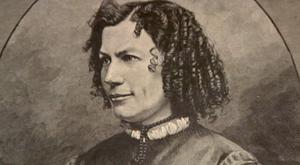 Die Schriftstellerin Marlitt aus Arnstadt