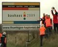 Bauhaus an der Autobahn