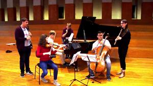 Besondere Probenarbeit im Musikgymnasium Belvedere
