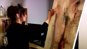 Die Künstlerin Saskia Nottrodt