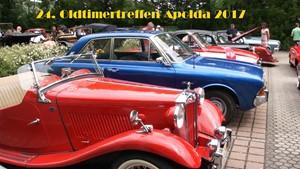 24.OLDTIMER SCHLOSSTREFFEN APOLDA 2017