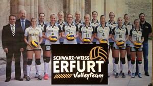 Volleyballteam  SCHWARZ-WEISS ERFURT