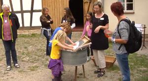 Waschtag im Freilichtemuseum Hohenfelden