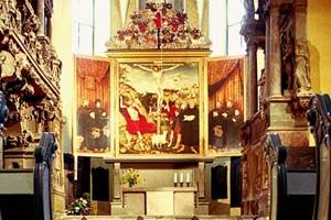Neu restaurierter Cranach-Altar in der Stadtkirche Peter und Paul