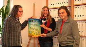 ueber-grenzen eine CD für Flüchtlinge