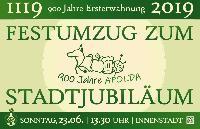 Festumzug zum Stadtjubiläum 900 Jahre Apolda