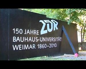 Zur Bauhaus-Universität 1860 - 2010