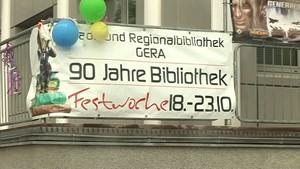 Ostthüringen.TV: 90. Geburtstag des öffentlichen Bibliothekswesens