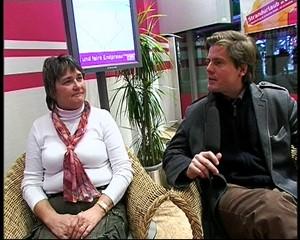 Frau Nowak gewinnt eine Reise bei L-tour