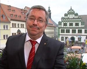Grußworte von Oberbürgermeister Stefan Wolf zur Eröffnung von Salve.TV Erfurt