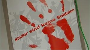 NEIN zu Kindersoldaten - Der Red Hand Day