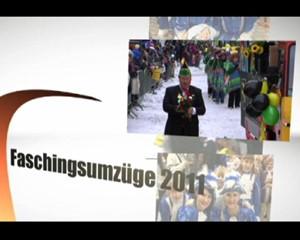 Faschingsumzüge 2011