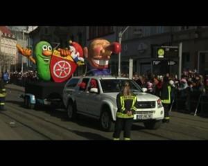 Der Karnevals-Umzug - Erfurt 2011