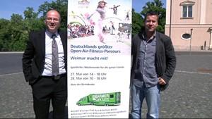 Werbung:Deutschland bewegt sich!