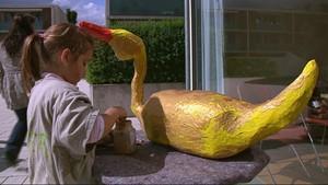 Zweites Kinderfest der GWG: Die goldene Gans