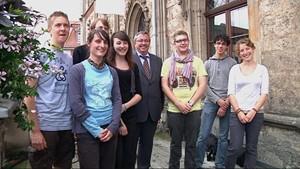 Jugendliche aus Blois in Weimar