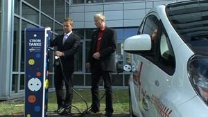 Jena.TV: Erste Stromtankstelle in Jena