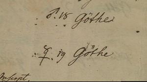 Schätze des Goethe- und Schiller Archivs