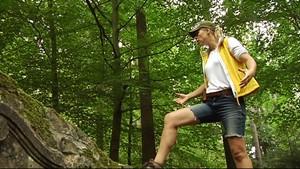 """""""Ulle"""" unterwegs im Thüringer Wald ohne Essen und Trinken"""