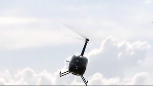Fliegen mit dem Helikopter oder Hubschrauber