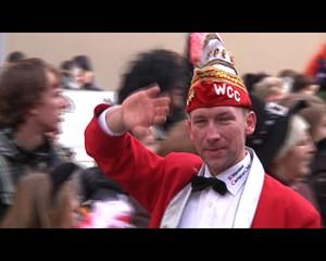 Der Erfurter Karnevalsumzug 2012