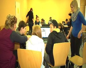 Schüler bei der Klassik Stiftung