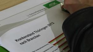 Jahresbericht der AOK 2012