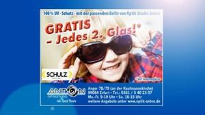 Werbespot Optik Anton - Sonnenbrille