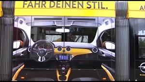 Werbebeitrag Opel Adam