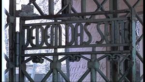 Das Buchenwaldtor wird restauriert