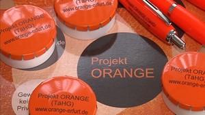 Das Projekt Orange in Erfurt
