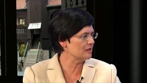 (vor der Wahl)  CDU: Christine Lieberknecht - Ministerpräsidentin Freistaat Thüringen